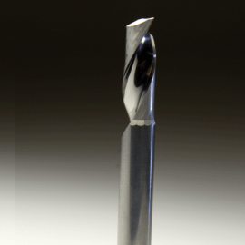 Precision Cut Single flute End Mill Industrial plastic cutting